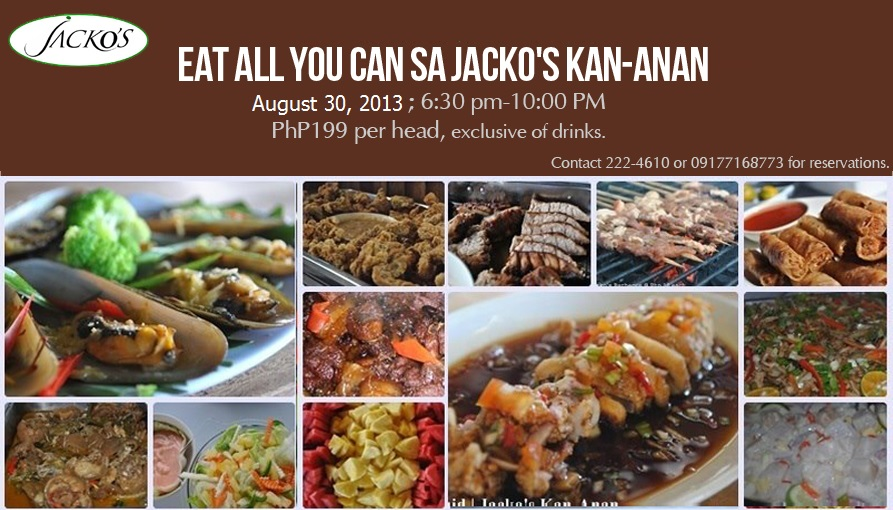 Eat All You Can sa Jacko's Kan-anan | Iligan City | August 2013